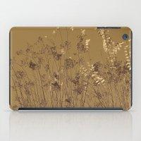 Thin Branches Sepia iPad Case