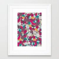 Out Mini Garden Framed Art Print