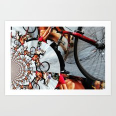 Time Cycle Art Print