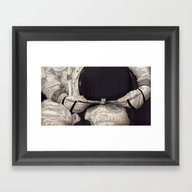 Hollow Desire Framed Art Print