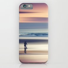 Sharing the Magic - abstract seascape at sunset iPhone 6 Slim Case