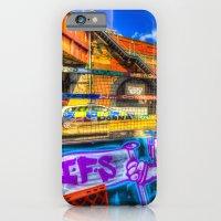 Leake Street and Police Car iPhone 6 Slim Case