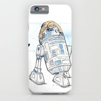 iPhone & iPod Case featuring R2 and His Baby Sloth by Donta Santistevan