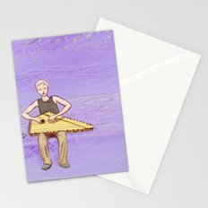 The Lute Player Stationery Cards