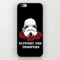 Support the Troopers iPhone & iPod Skin