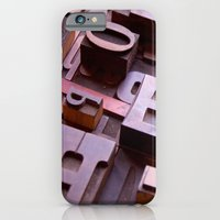 3D Letters - Typography Photography™ iPhone 6 Slim Case