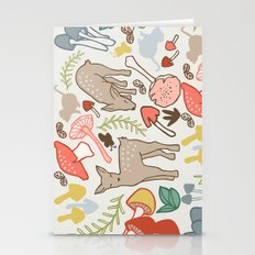 Flora And Fauna  Deer In… Stationery Cards