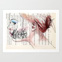 Gomphosis Art Print