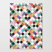 Pass This Pastels Canvas Print