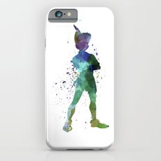Peter Pan in watercolor iPhone 6 Slim Case