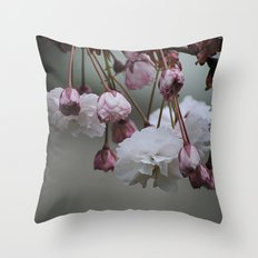 Zierapfel Blüte   Throw Pillow