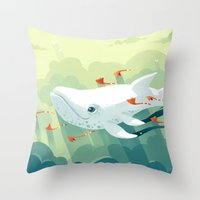 Nightbringer 2 Throw Pillow