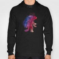 Watercolor Porcupine Hoody