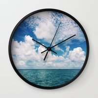 Mosquito Reef Wall Clock