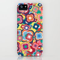 iPhone 5s & iPhone 5 Cases featuring All the Pretty Colors by micklyn