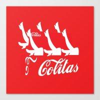Colitas Canvas Print