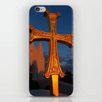 Cross Outside Of St. Bar… iPhone & iPod Skin