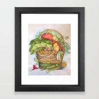 Homegrown Framed Art Print