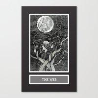 Shadow Season: The Web Canvas Print