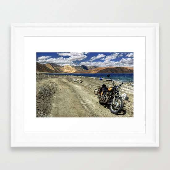 what a ride...what a feeling..! Framed Art Print