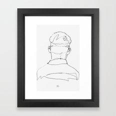 C L D Framed Art Print