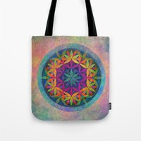 The Flower of Life variation Tote Bag
