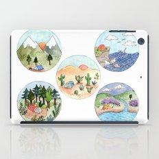 Campsite Selection iPad Case