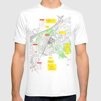 Haugerud Urban Center Mens Fitted Tee White SMALL