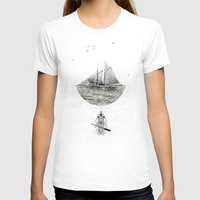 Neptune Womens Fitted Tee White SMALL