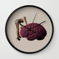 Brainwash Wall Clock