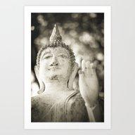 Buddha In Sukhothai Art Print