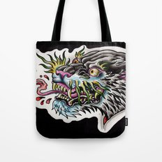 panther tongue Tote Bag