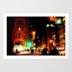 madison square Art Print