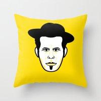 Rebellious Jukebox #11 Throw Pillow