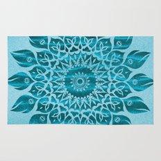 Deep Meditation Mandala Rug