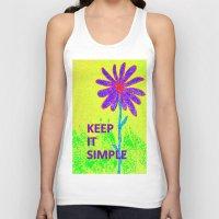 Wildflower Keep It Simple Unisex Tank Top