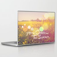 Here Comes The Summer Laptop & iPad Skin