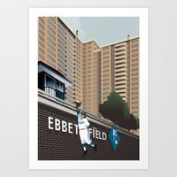 Ther Used To Be A Ballpa… Art Print