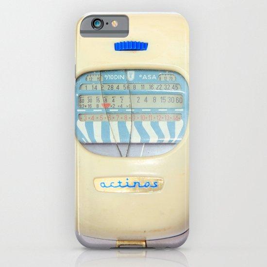 vintage exposure meter iPhone & iPod Case