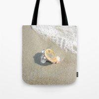 Washed Up Seashell. Tote Bag