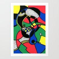 Print #7 Art Print