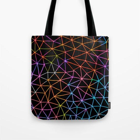 Geometric Glow Tote Bag