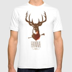 HANNA film tribute poster Mens Fitted Tee White SMALL