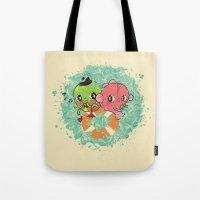 The Pond Lovers - Mr. Fr… Tote Bag