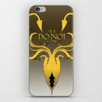 Greyjoy - Second Version iPhone & iPod Skin