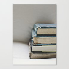 Vintage Books 2 - Book series Canvas Print