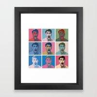 Van Warhol Framed Art Print