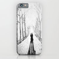 Winter Walk in the Park iPhone 6 Slim Case