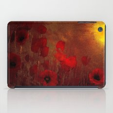 FLOWERS - Poppy heaven iPad Case
