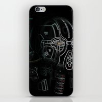 Glitchmask Zone iPhone & iPod Skin